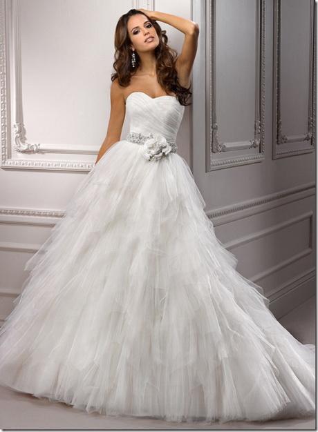 la plus belle robe de mari e du monde