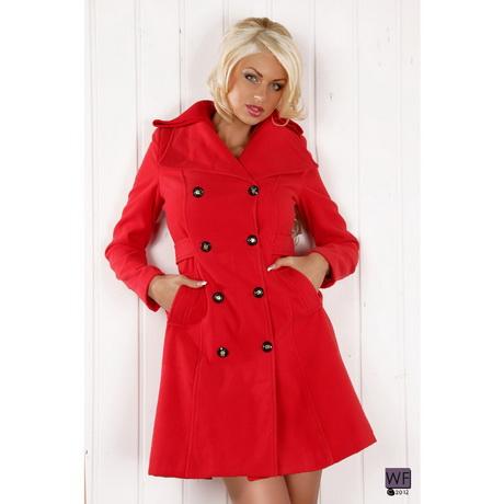 manteau femme rouge. Black Bedroom Furniture Sets. Home Design Ideas