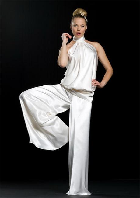 Pantalon mousseline pour mariage - Pantalon femme mariage ...