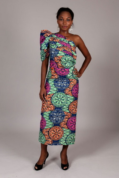 robe africaine de soir e