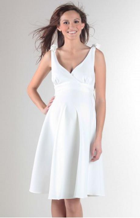 robe blanche femme enceinte. Black Bedroom Furniture Sets. Home Design Ideas