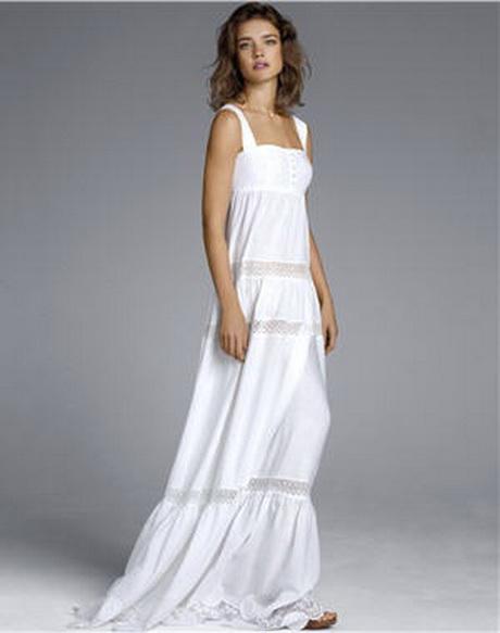 Robe Blanche Longue Boheme : robe boheme blanche ~ Preciouscoupons.com Idées de Décoration