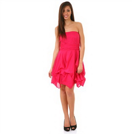 robe bustier rose fushia With robe bustier rose