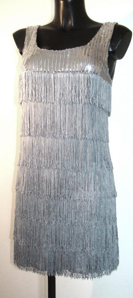 robe charleston a frange. Black Bedroom Furniture Sets. Home Design Ideas