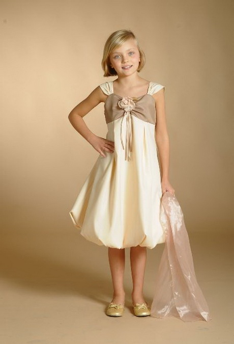 Robe de ceremonie pour petite fille - Robe petite fille d honneur ...