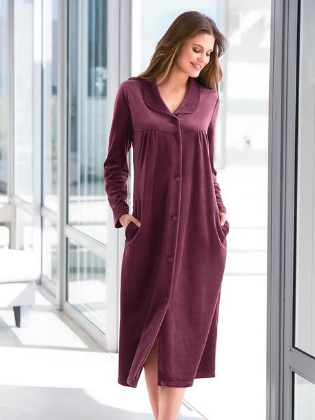 Robe de chambre - Robe de chambre en laine ...