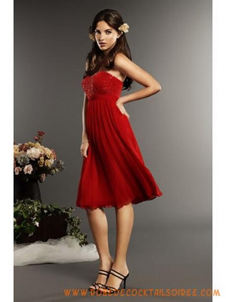 robe de demoiselle d honneur rouge. Black Bedroom Furniture Sets. Home Design Ideas