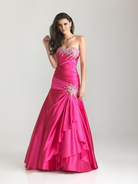 Robe de bal: l'heure du choix! Robe de princesse rose vif (hot pink ...