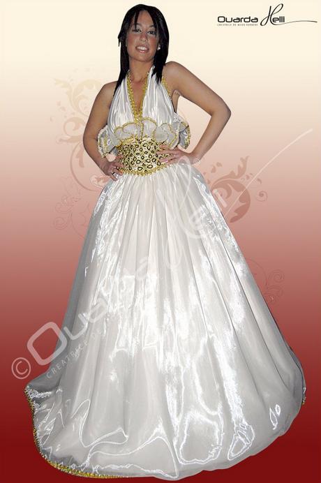 Robe de mariage kabyle for Robes d occasion pour les mariages plus la taille