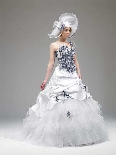robe de mariee blanche et grise. Black Bedroom Furniture Sets. Home Design Ideas