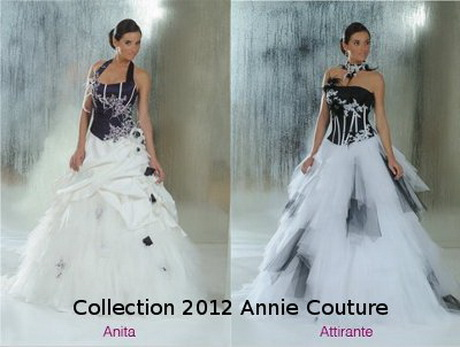 Robe De Mariée Princesse Noire Et Blanc Génial Pictures to pin on ...