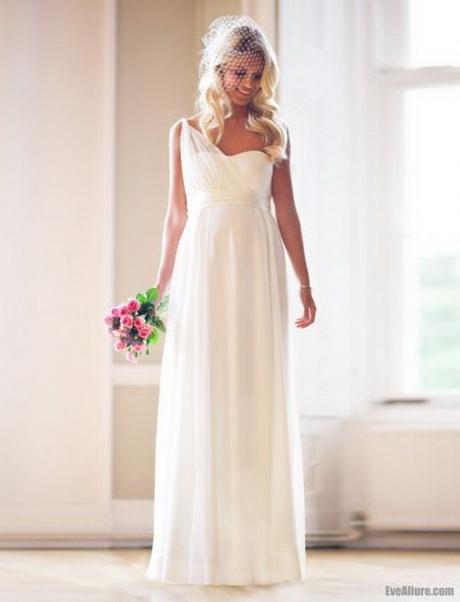 Robe de mariee pour femme ronde for Robe pour mariage enceinte