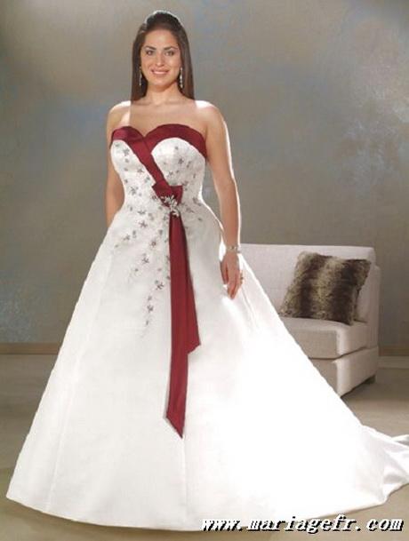 robe de mariee rouge et blanche. Si vous avez une figure crise et ...