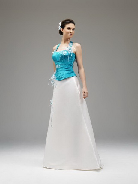 robe de mariee turquoise