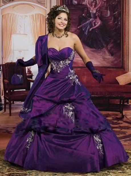 robe de mariee violette
