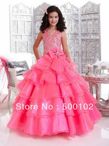 Robe De Princesse Pour Petite Fille Mariage Pas Ch Pictures to pin on .
