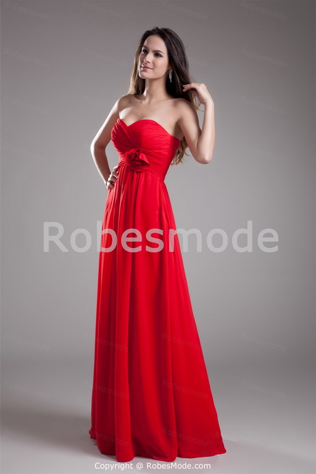 robe demoiselle d honneur rouge. Black Bedroom Furniture Sets. Home Design Ideas