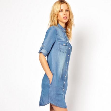 shirt jurk lang
