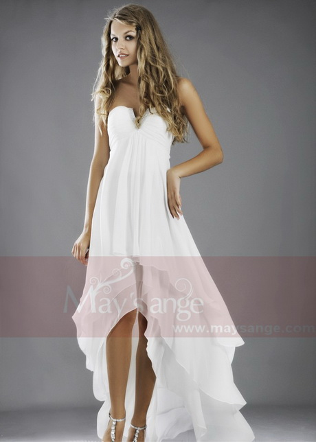 robe femme blanche. Black Bedroom Furniture Sets. Home Design Ideas