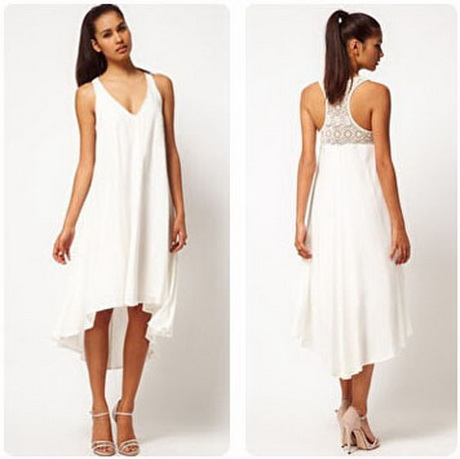 White Dresses: Robe Blanche Fluide
