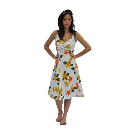 Floral dresses robe fleurs hawaienne - Fleure hawaienne ...