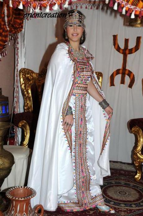 Robe kabyle pour mariage