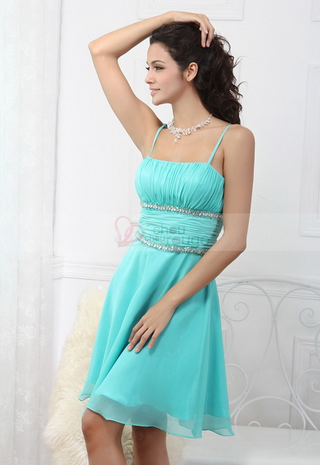 Robe turquoise pour mariage for Robes pour occasions mariages