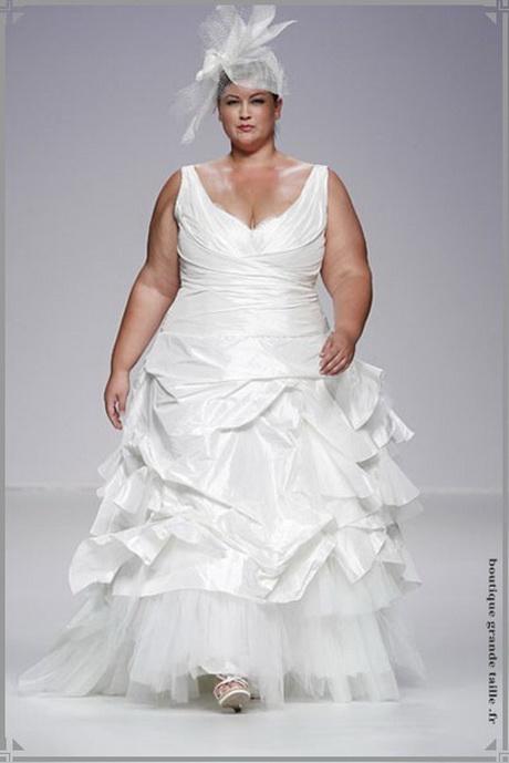 Robes de mari e pour femmes rondes for Robes pour les femmes de taille plus pour les mariages
