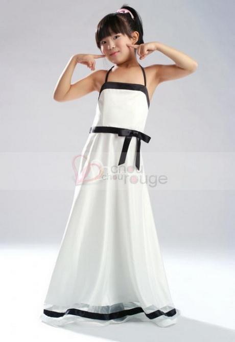 Vetements cuir robe de fillette pour mariage for Robes de 10 ans pour les mariages