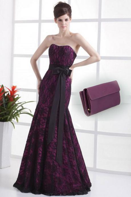 Robes pour fete de mariage for Robe violette pour mariage