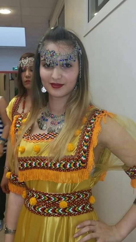 Fashion week janvier 2017 - Robe Kabyle Hafsa 2017
