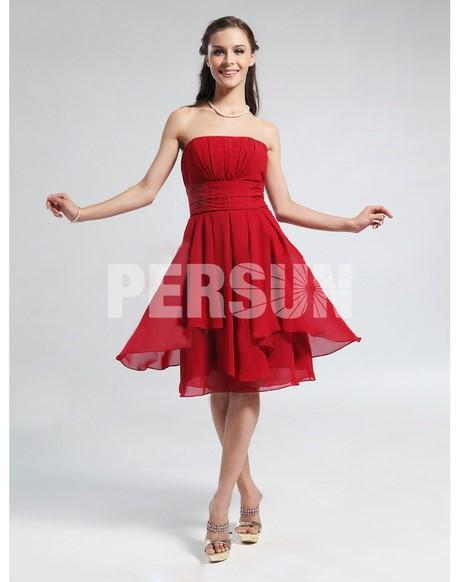 robe de cocktail courte rouge. Black Bedroom Furniture Sets. Home Design Ideas