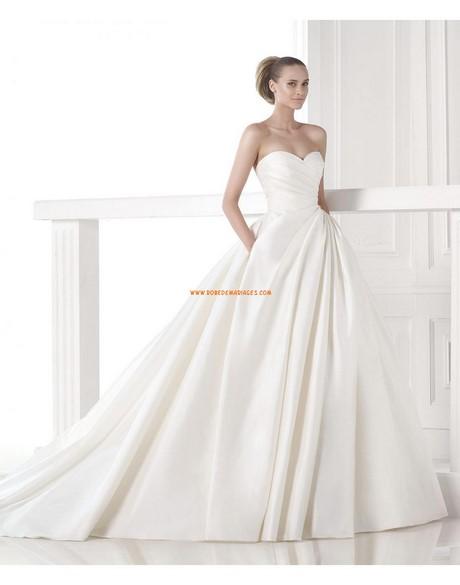 Robe de mariée bustier princesse