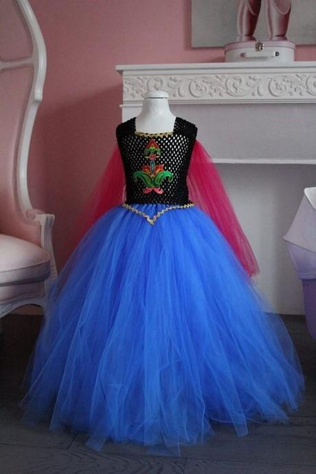 Robe de princesse 10 ans - Robe de anna reine des neiges ...