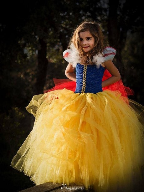 Robe de princesse fille 3 ans - La princesse blanche neige ...