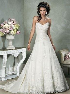 robe classe mariage