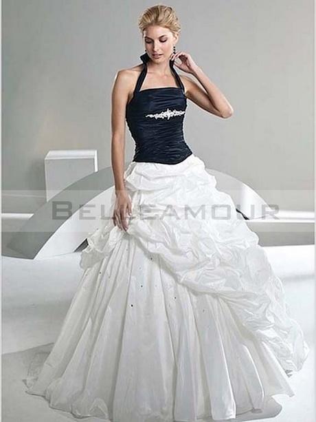 robe de mari e blanche et noir. Black Bedroom Furniture Sets. Home Design Ideas