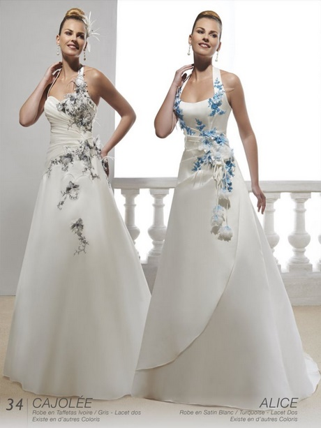 robe mari e blanche et bleu. Black Bedroom Furniture Sets. Home Design Ideas