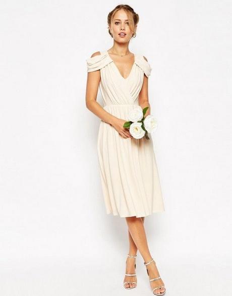 Robe mi longue chic pour mariage for Robes chics pour les mariages