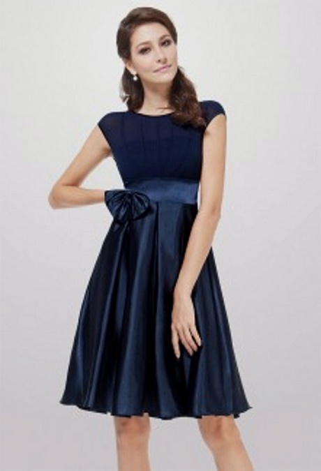 robe pour mariage bleu marine. Black Bedroom Furniture Sets. Home Design Ideas