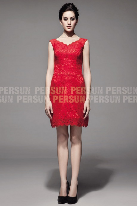 Robe pour un mariage rouge for Robe rouge pour mariage