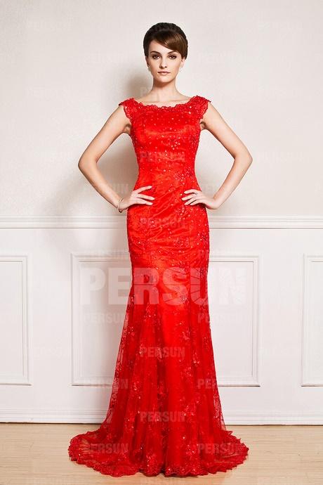 Robe rouge pour invit mariage for Robes de mandarine pour mariage