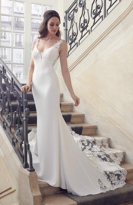 La nouvelle tendance robes de mariée: les robes nues