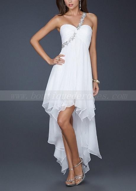 Mariage civil robe courte for Robe blanche pour mariage civil