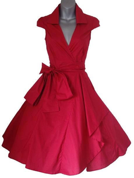 robe ann e 50 rouge. Black Bedroom Furniture Sets. Home Design Ideas