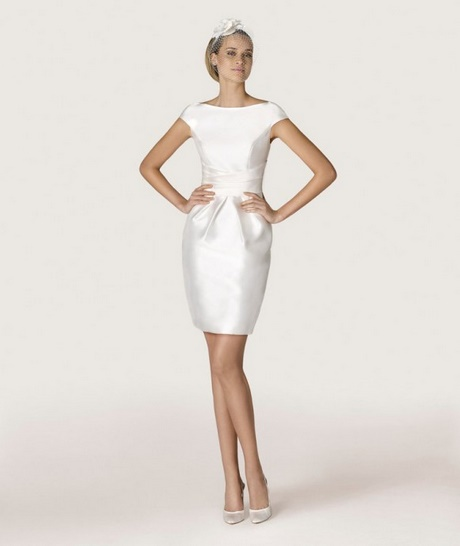 Robe blanche pour mariage civil for Robes blanches pour les mariages