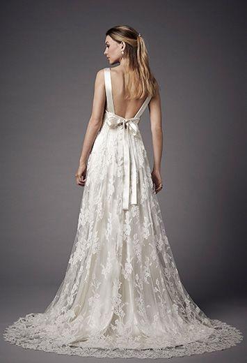 Robe de mari e empire for Robes de mariage de taille empire