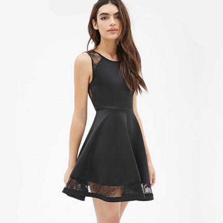 petite robe noire d t. Black Bedroom Furniture Sets. Home Design Ideas