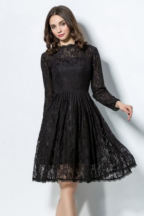 petite robe noire manche longue. Black Bedroom Furniture Sets. Home Design Ideas
