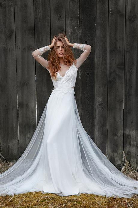 robe de mariée créateur fabienne Alagama Paris et Lyon – campagne ...